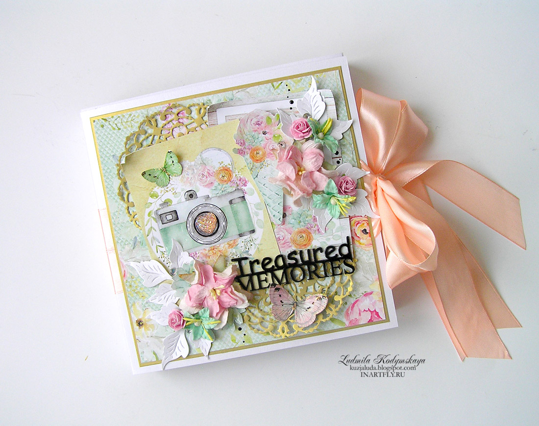 gift album for friend Treasured Memories